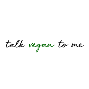 talk vegan to me