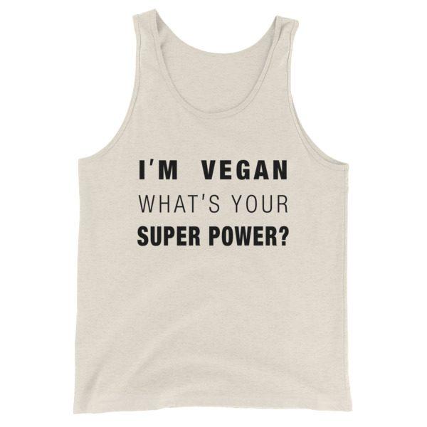 Vegan Super Powers Tank Top